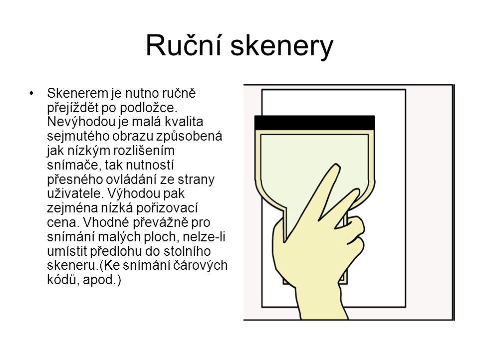 Ruční skenery