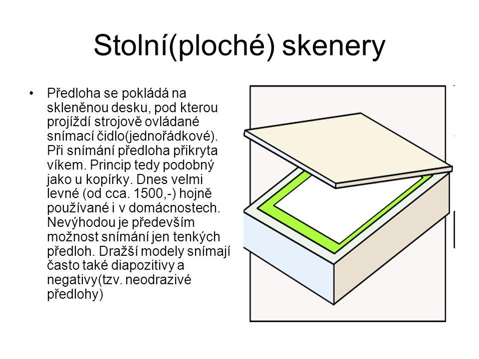 Stolní(ploché) skenery