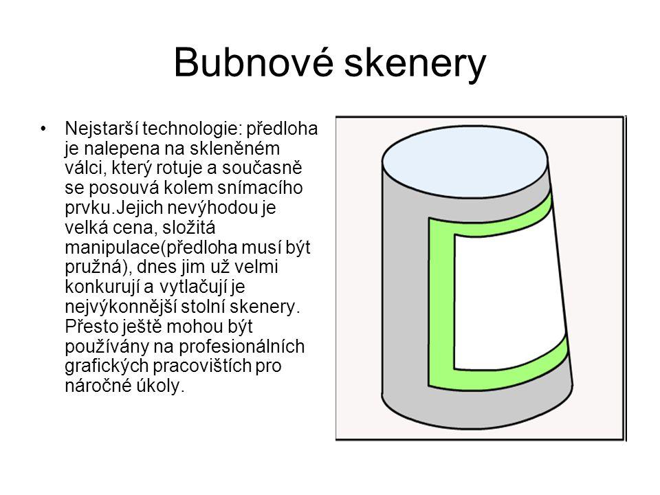 Bubnové skenery