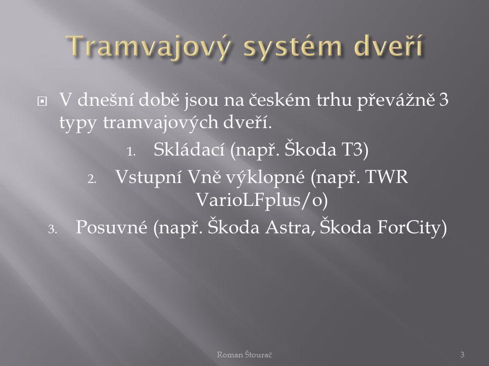 Tramvajový systém dveří