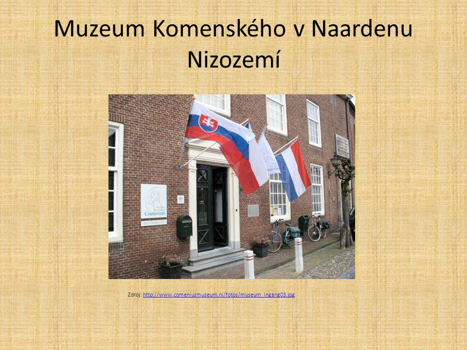 Muzeum Komenského v Naardenu Nizozemí