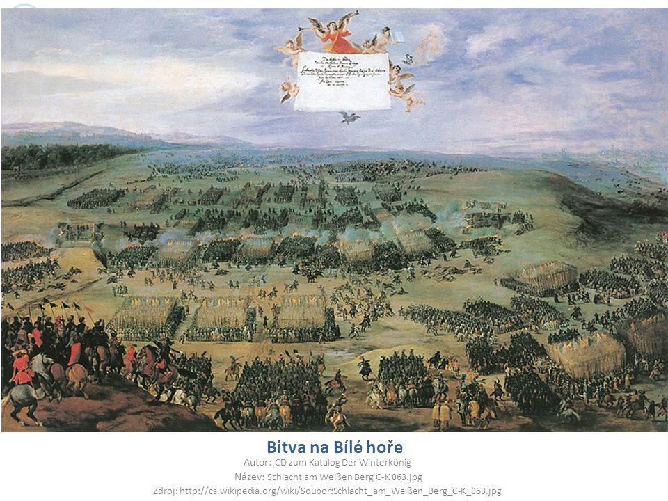 Bitva na Bílé hoře Autor: CD zum Katalog Der Winterkönig