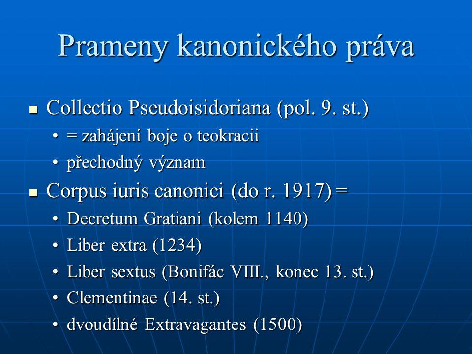 Prameny kanonického práva