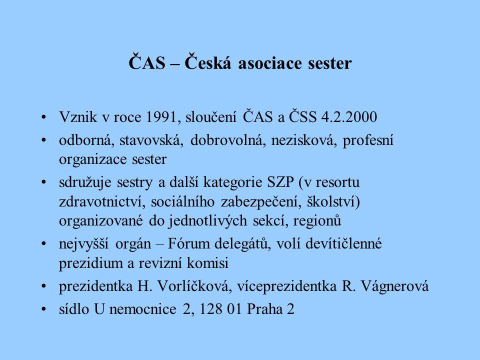 ČAS – Česká asociace sester