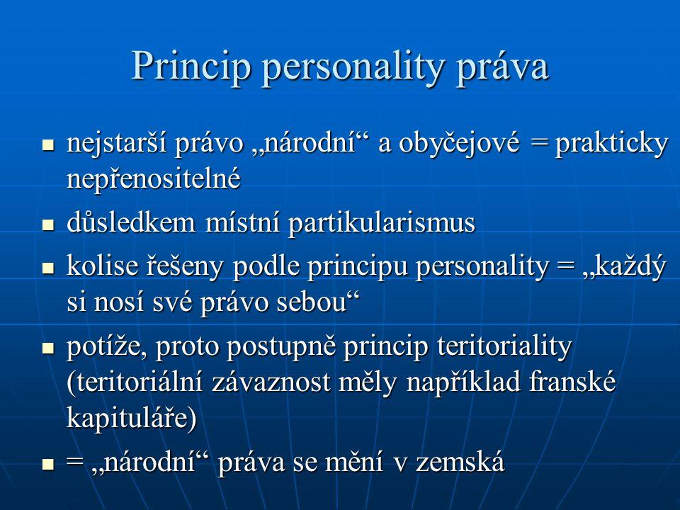 Princip personality práva