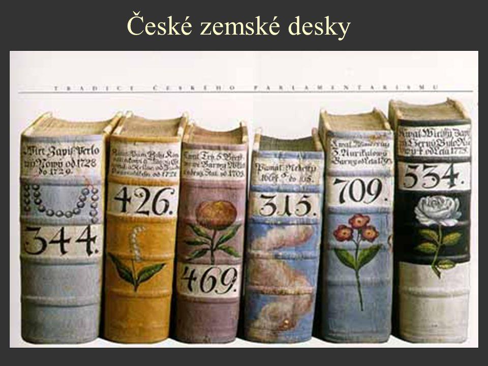 České zemské desky