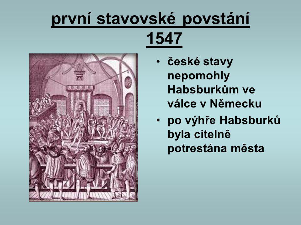 první stavovské povstání 1547