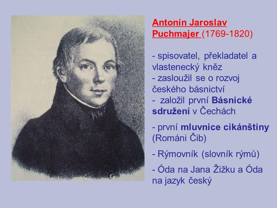 Antonín Jaroslav Puchmajer (1769-1820)
