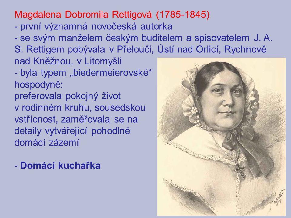 Magdalena Dobromila Rettigová (1785-1845)