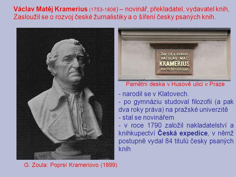 - narodil se v Klatovech.