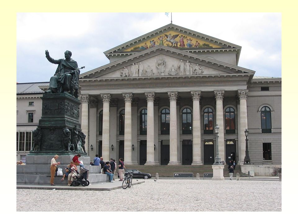 Ludwig platz Ještě další příklady evropské klasicistní architektury: