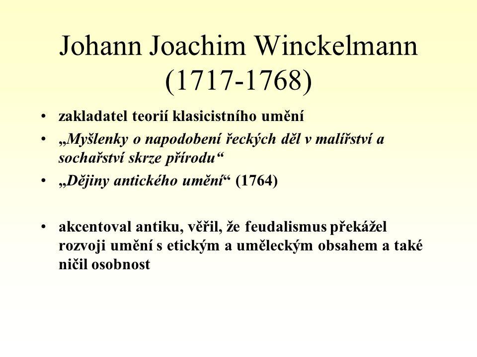 Johann Joachim Winckelmann (1717-1768)