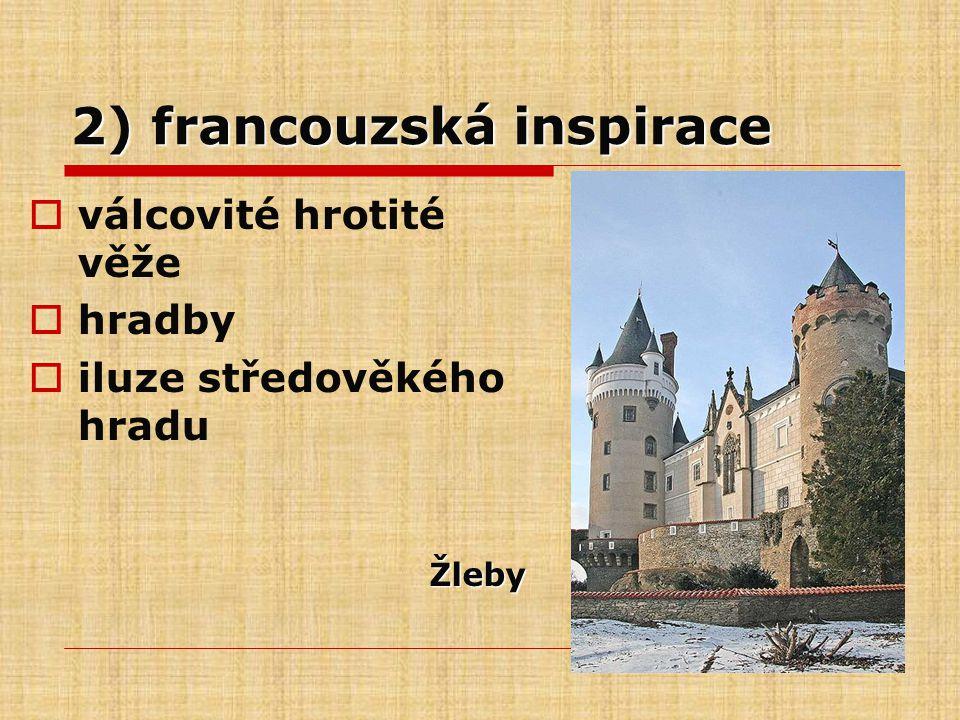 2) francouzská inspirace