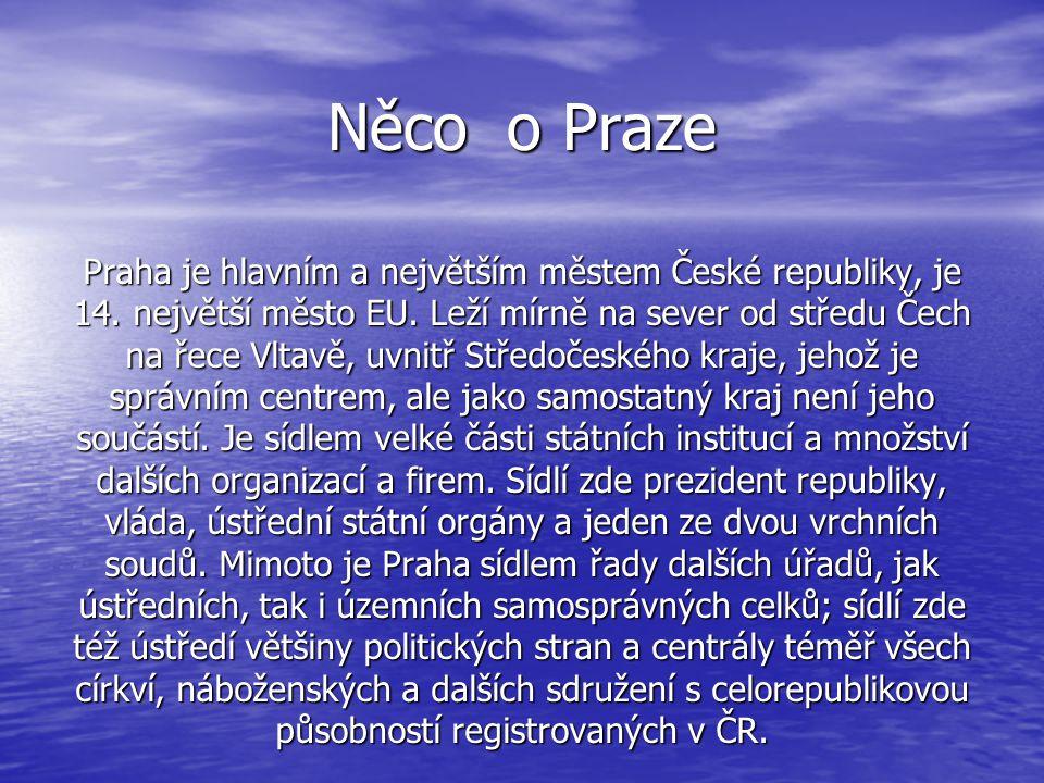 Něco o Praze