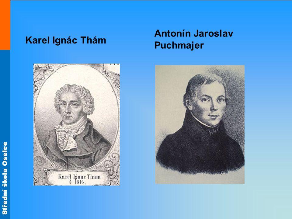 Karel Ignác Thám Antonín Jaroslav Puchmajer