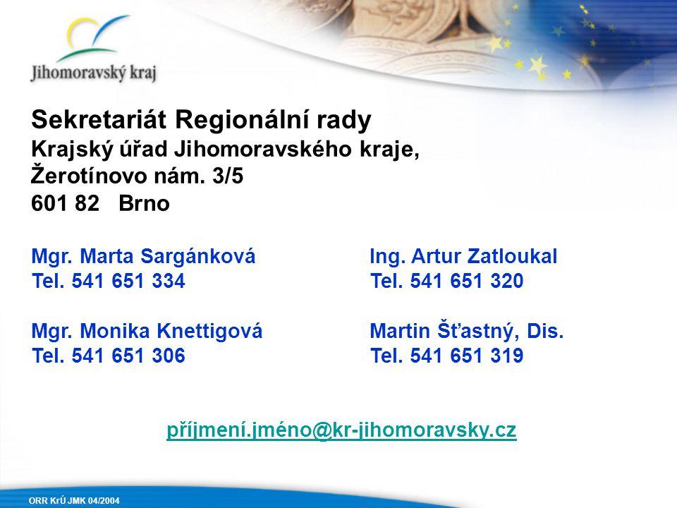 Sekretariát Regionální rady