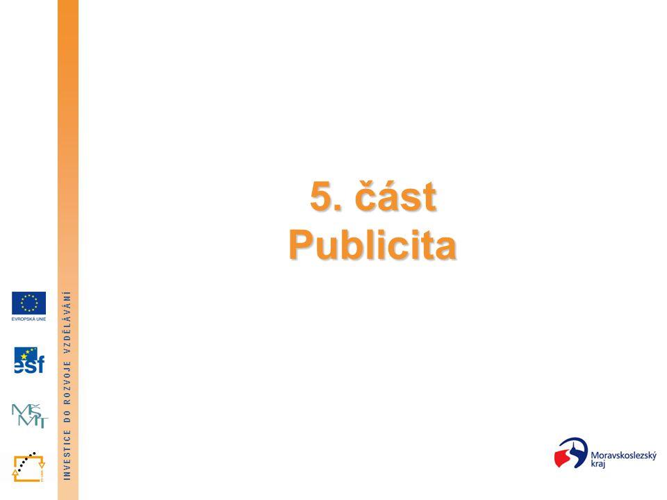 5. část Publicita