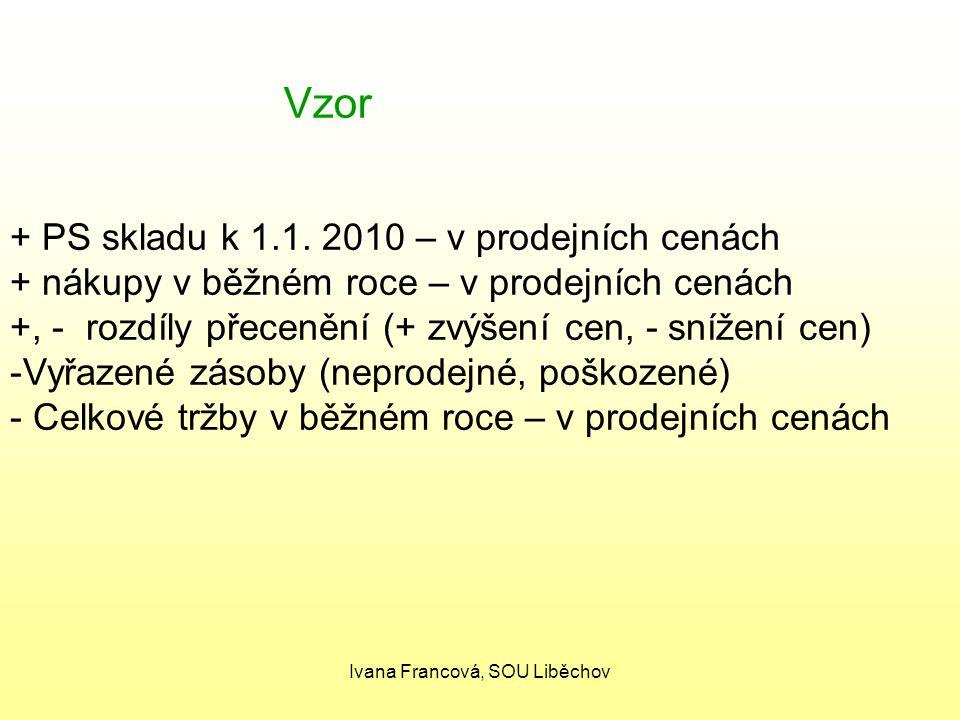 Ivana Francová, SOU Liběchov