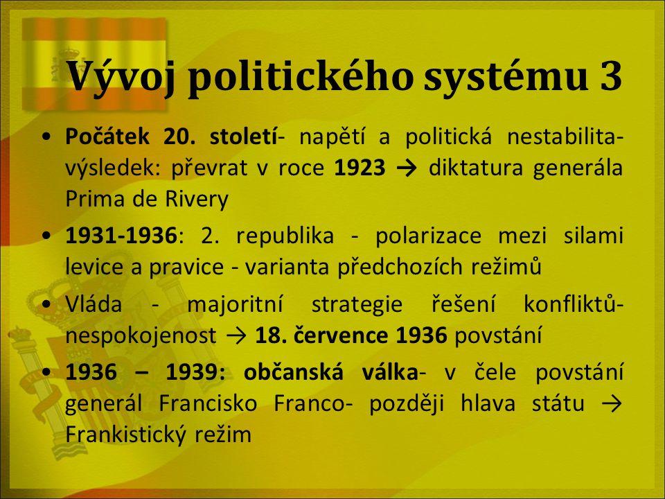 Vývoj politického systému 3