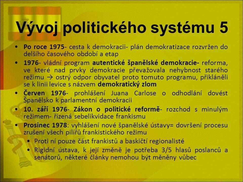 Vývoj politického systému 5
