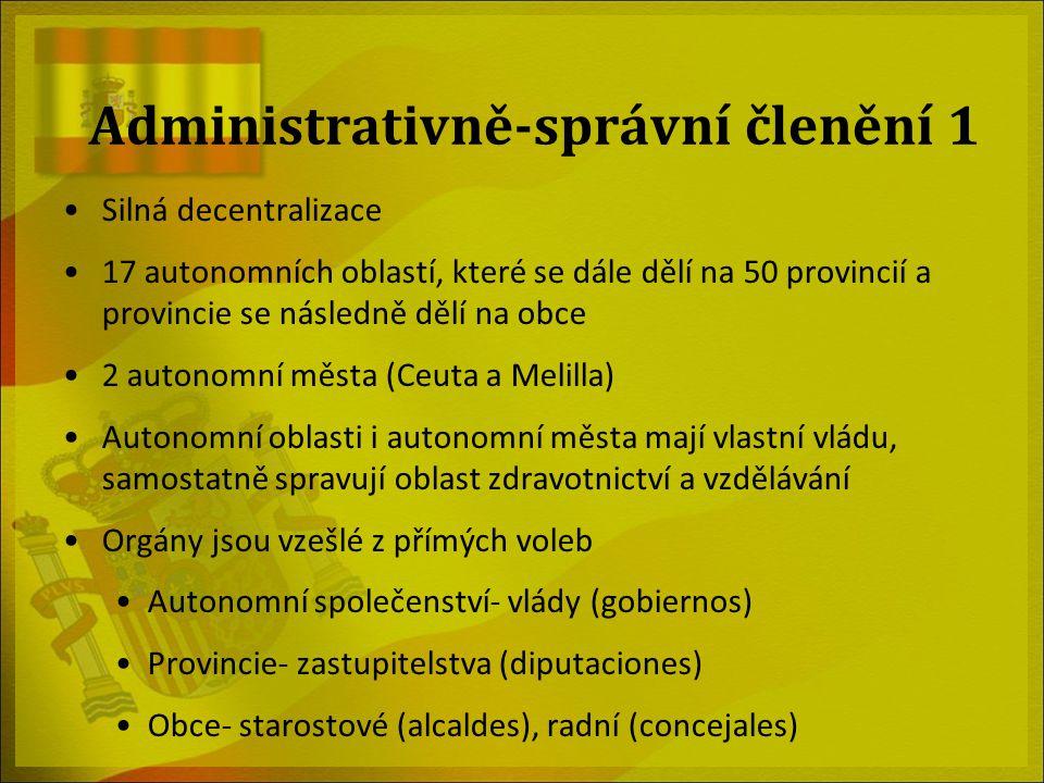 Administrativně-správní členění 1