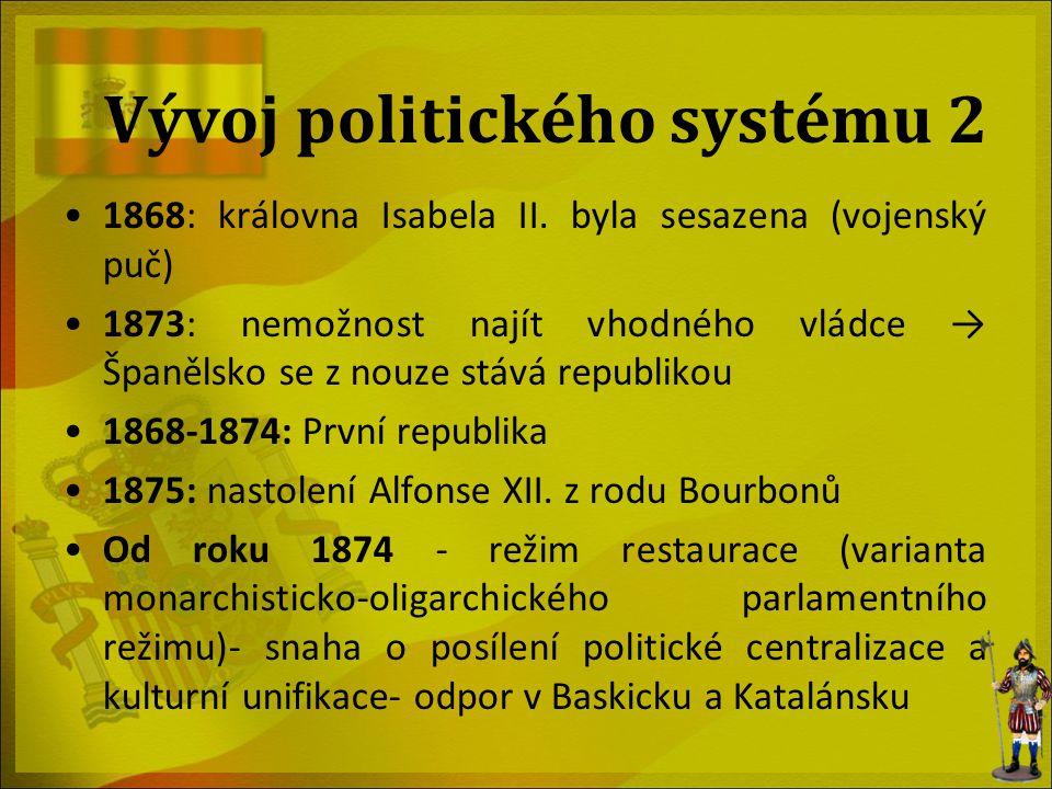 Vývoj politického systému 2