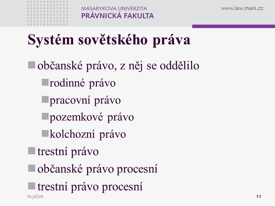 Systém sovětského práva