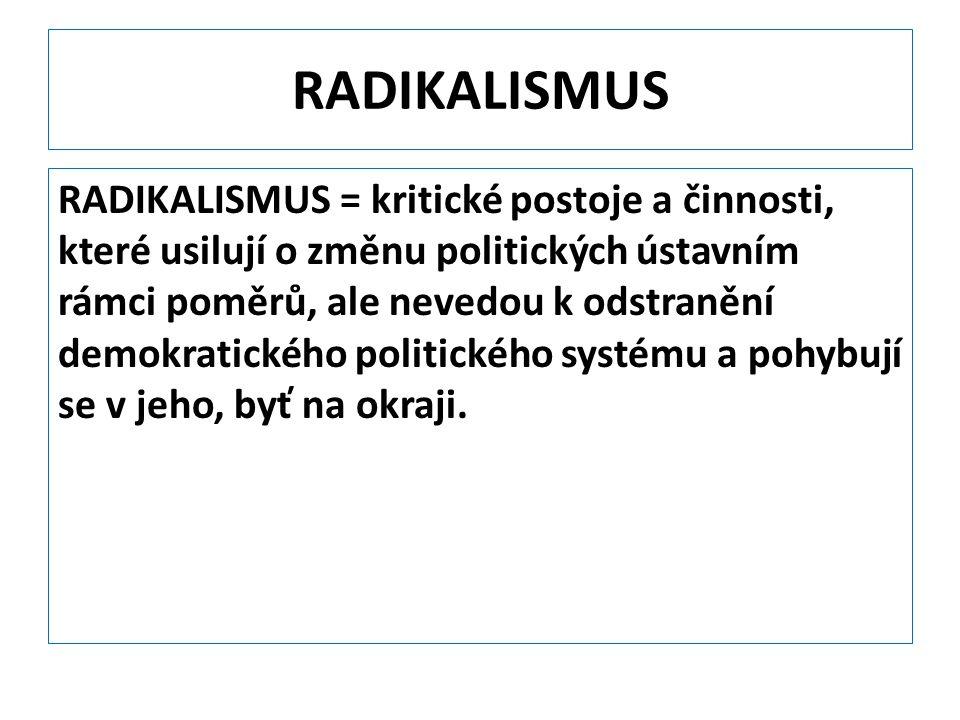 RADIKALISMUS