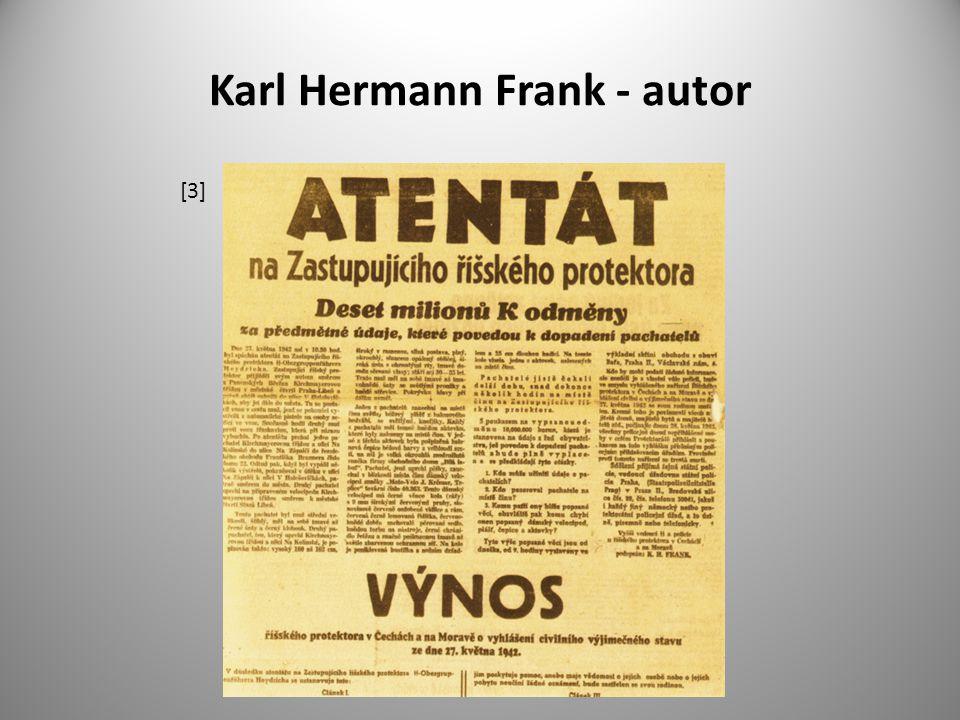 Karl Hermann Frank - autor