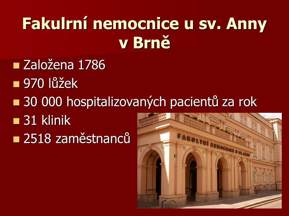 Fakulrní nemocnice u sv. Anny v Brně