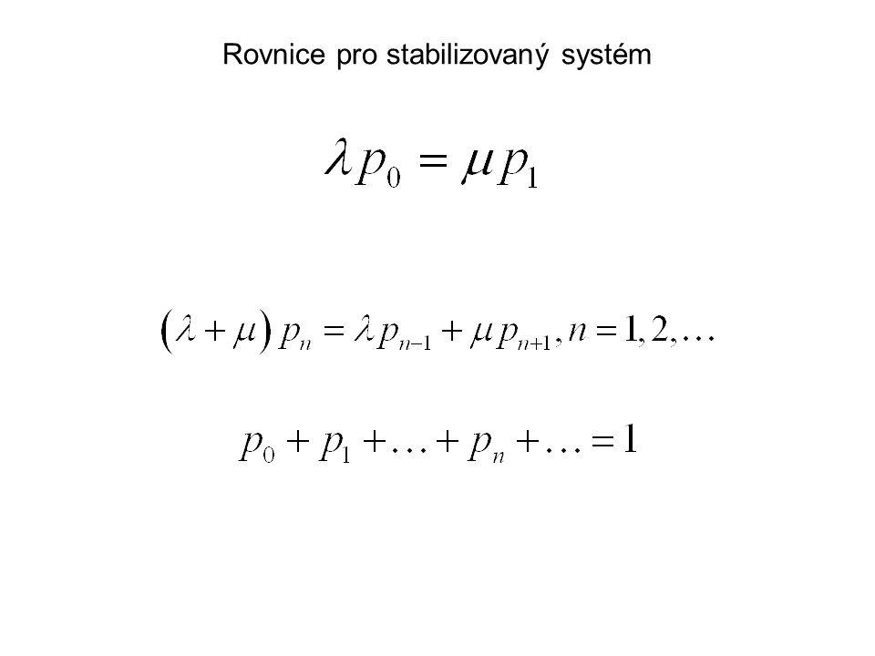 Rovnice pro stabilizovaný systém