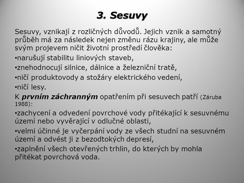3. Sesuvy
