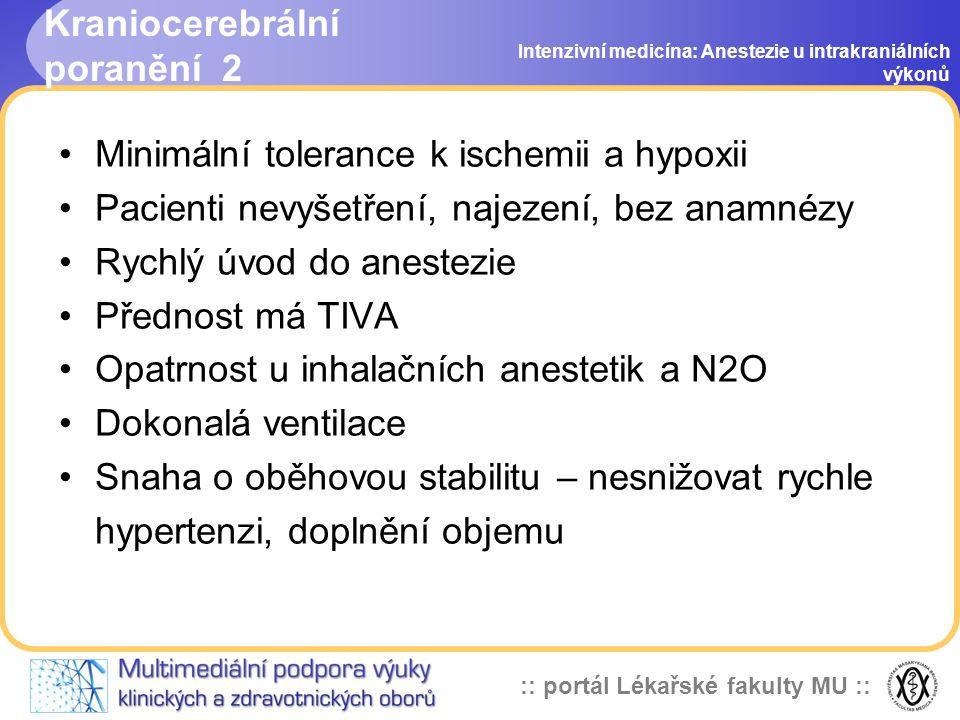Kraniocerebrální poranění 2
