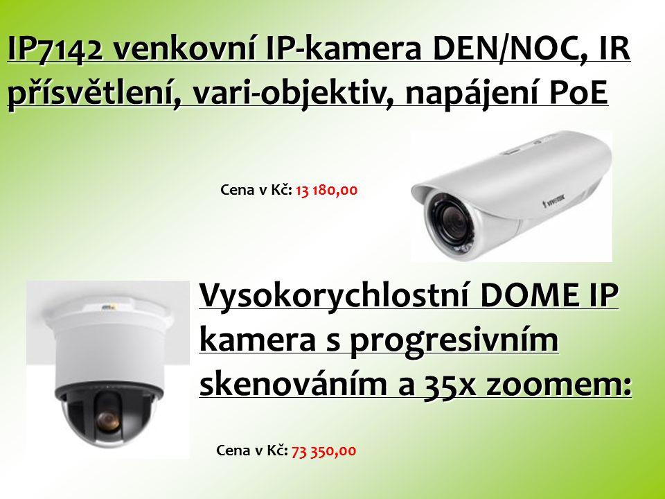 IP7142 venkovní IP-kamera DEN/NOC, IR přísvětlení, vari-objektiv, napájení PoE