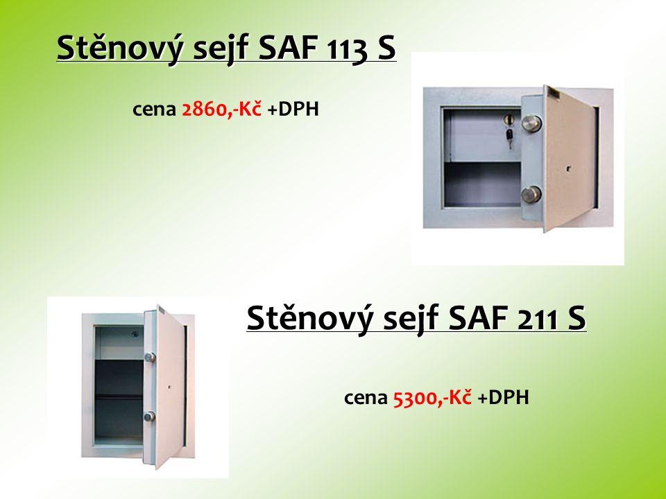 Stěnový sejf SAF 113 S cena 2860,-Kč +DPH