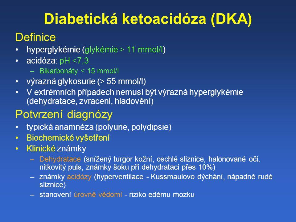 Diabetická ketoacidóza (DKA)