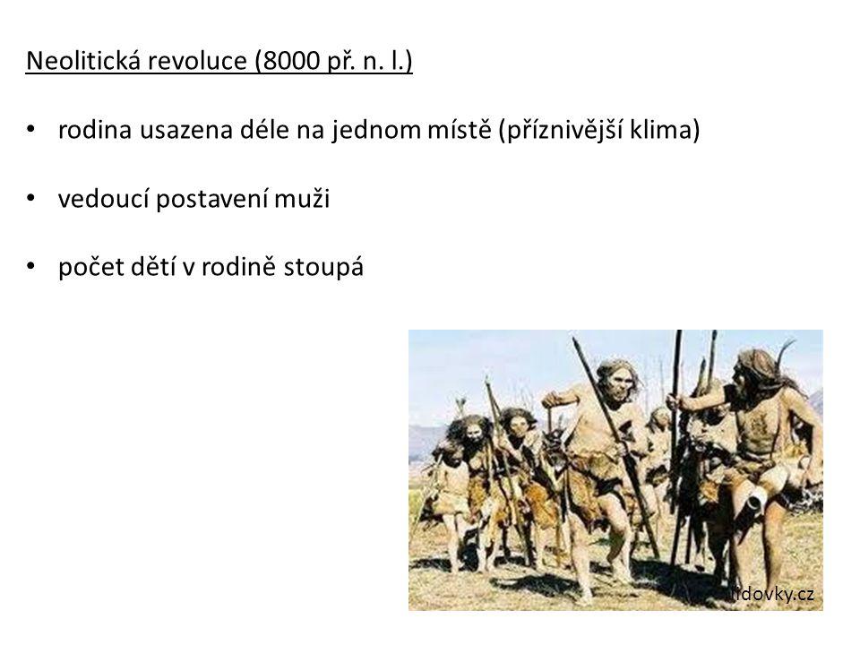 Neolitická revoluce (8000 př. n. l.)