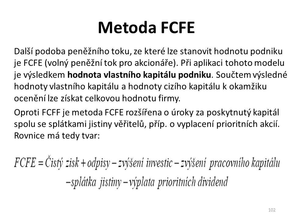 Metoda FCFE