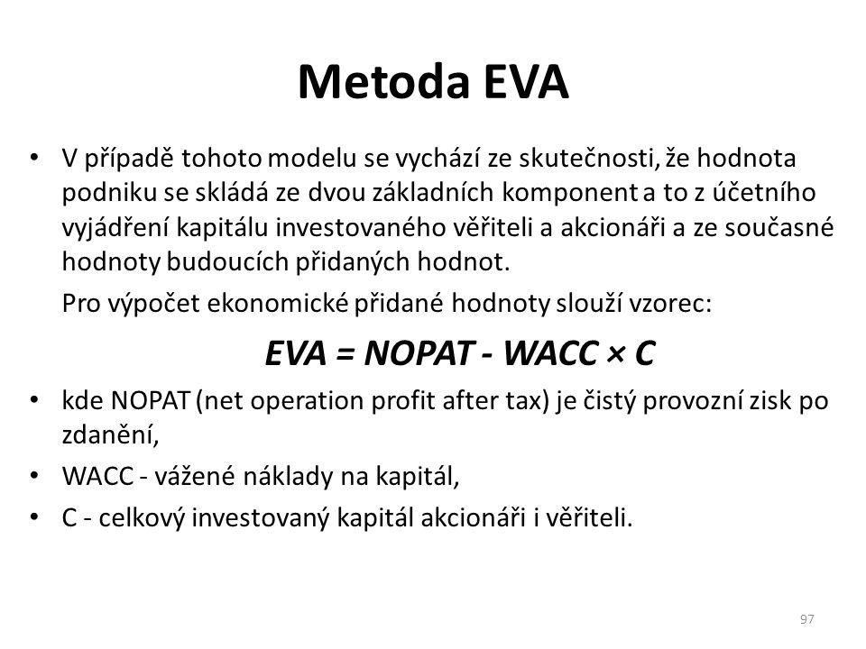 Metoda EVA