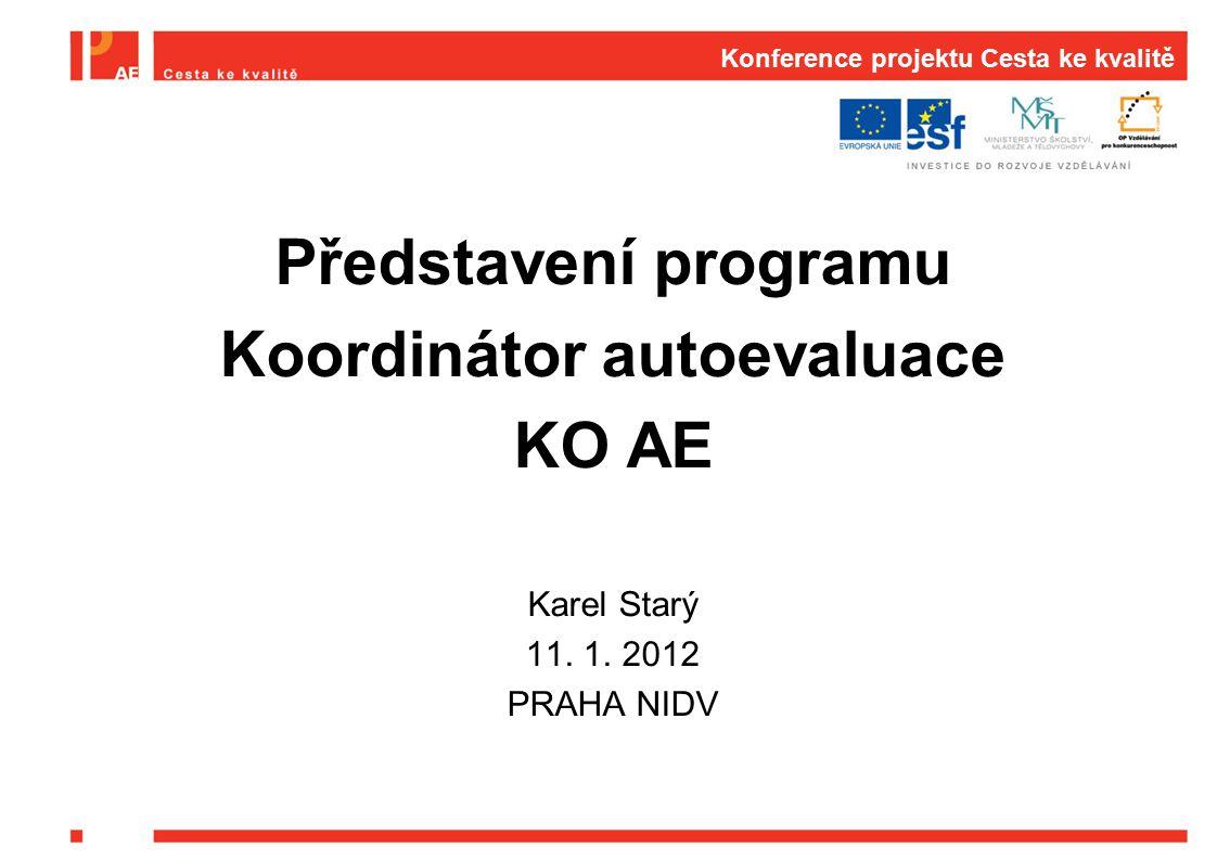 Konference projektu Cesta ke kvalitě