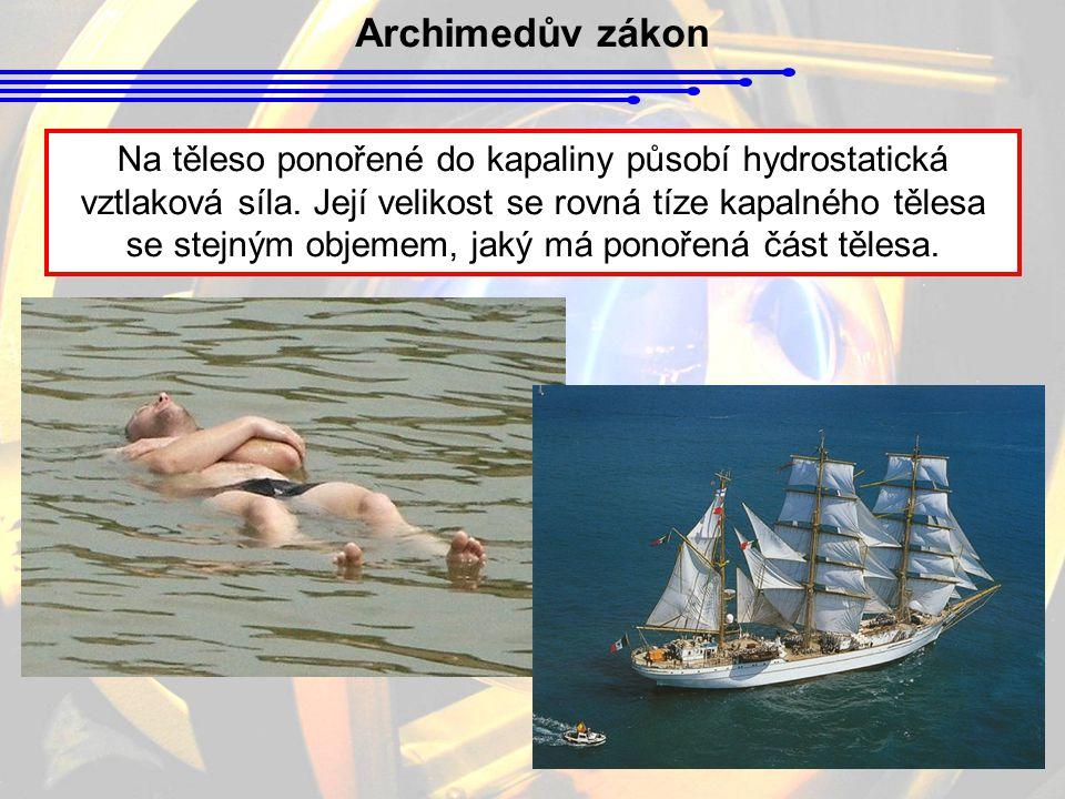 Archimedův zákon