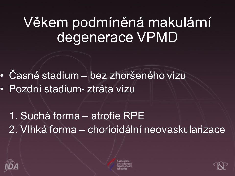 Věkem podmíněná makulární degenerace VPMD