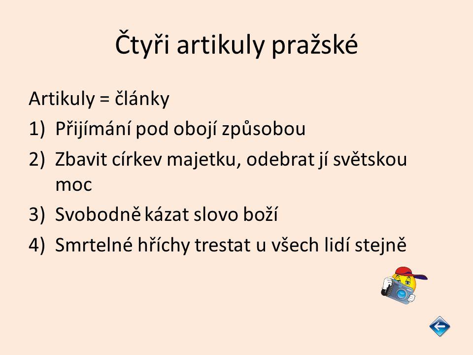 Čtyři artikuly pražské