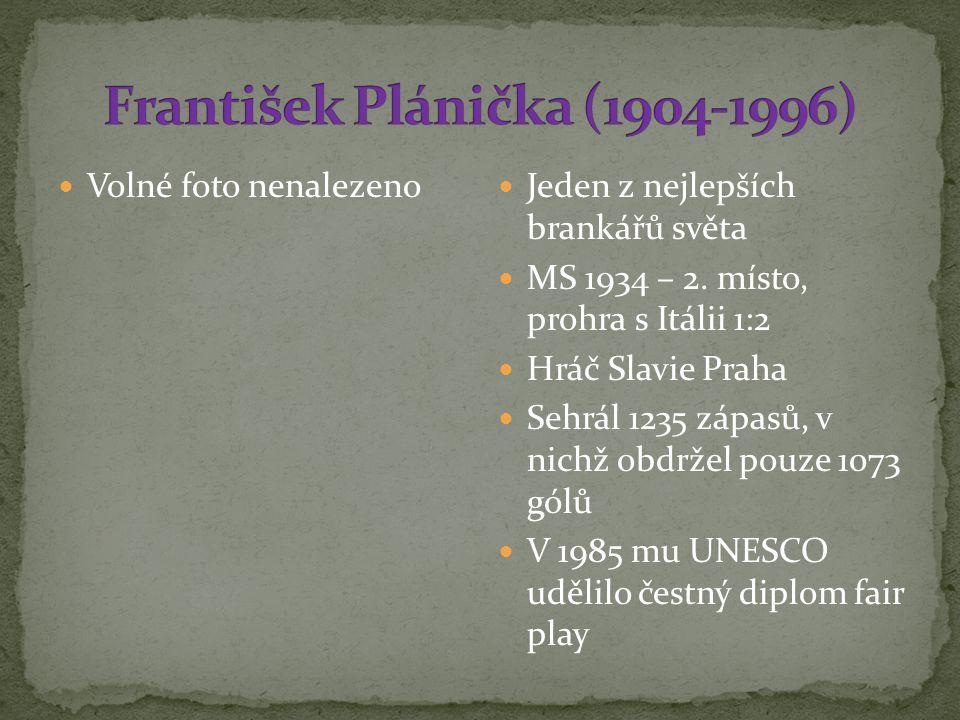 František Plánička (1904-1996)
