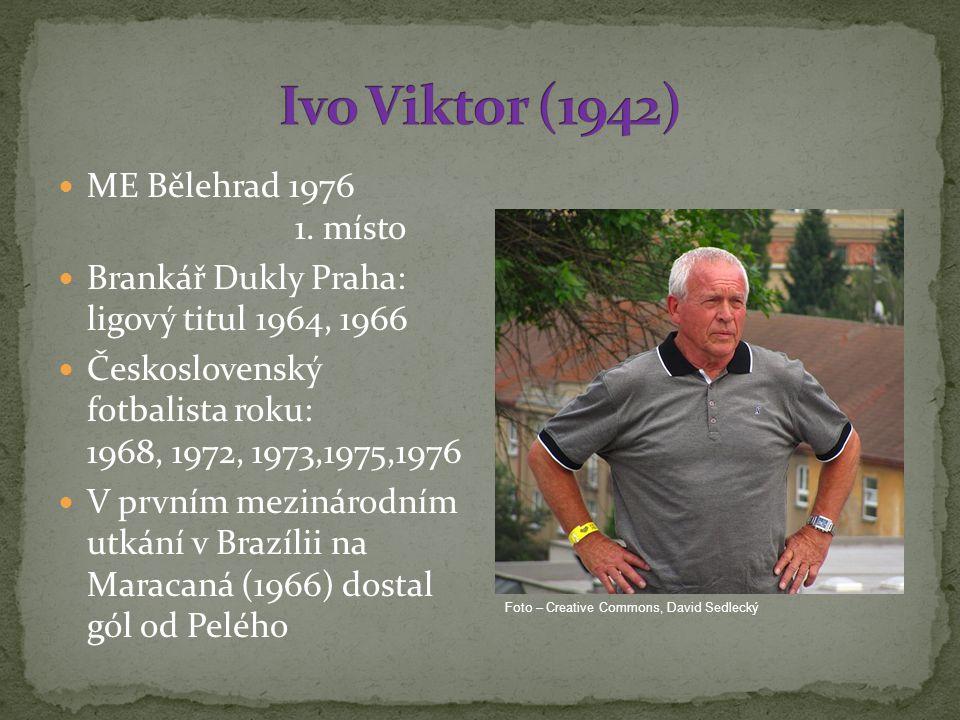 Ivo Viktor (1942) ME Bělehrad 1976 1. místo