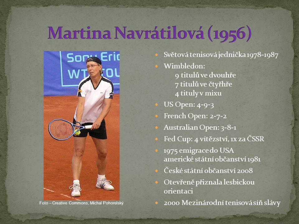 Martina Navrátilová (1956)