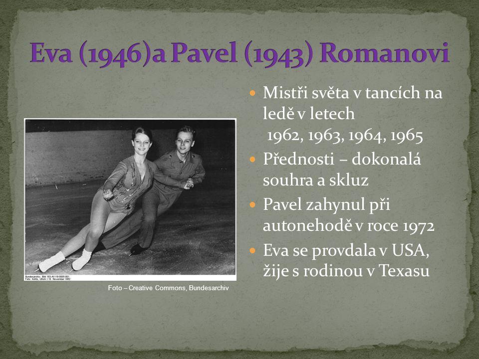 Eva (1946)a Pavel (1943) Romanovi