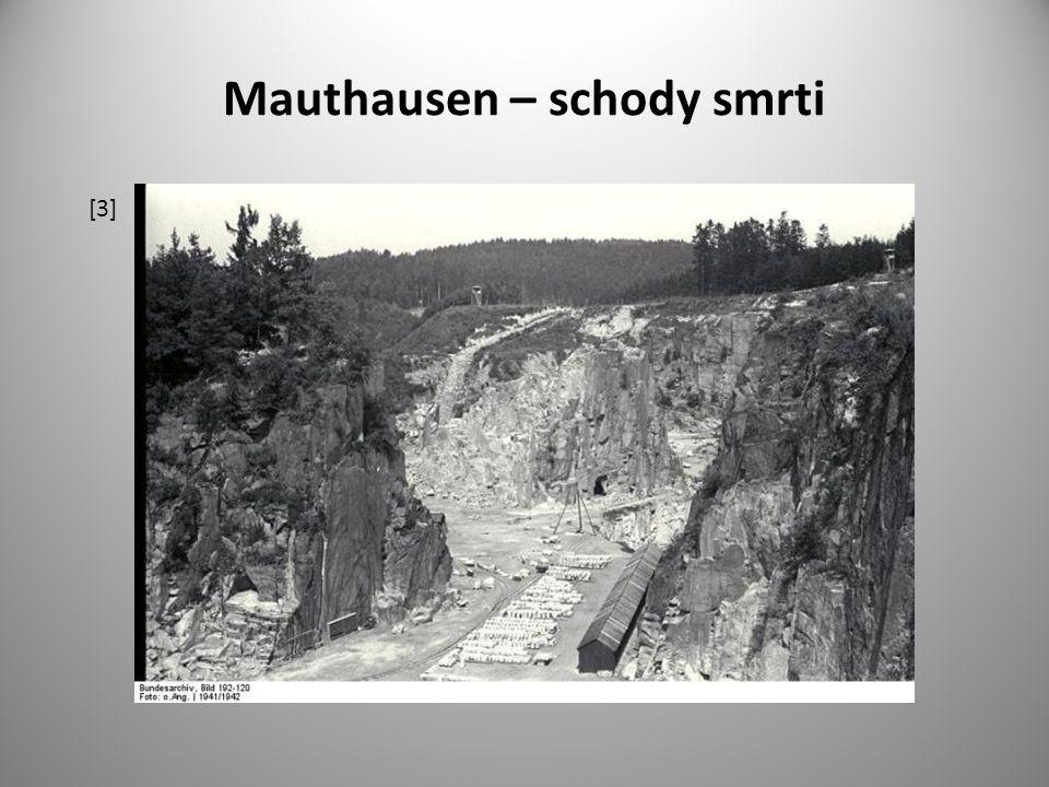 Mauthausen – schody smrti