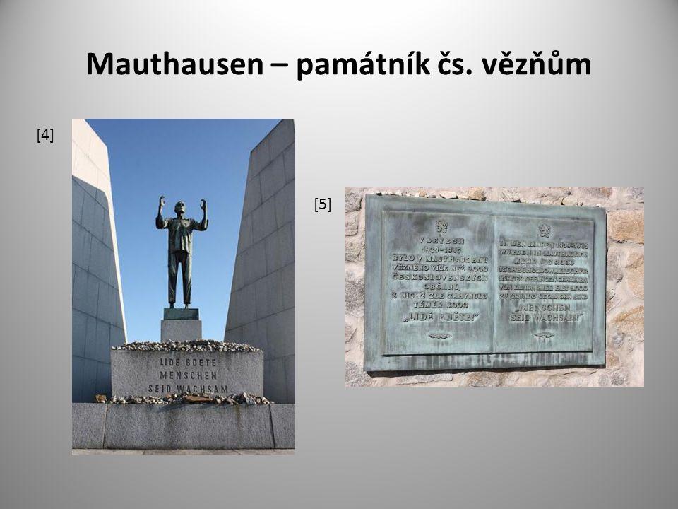 Mauthausen – památník čs. vězňům