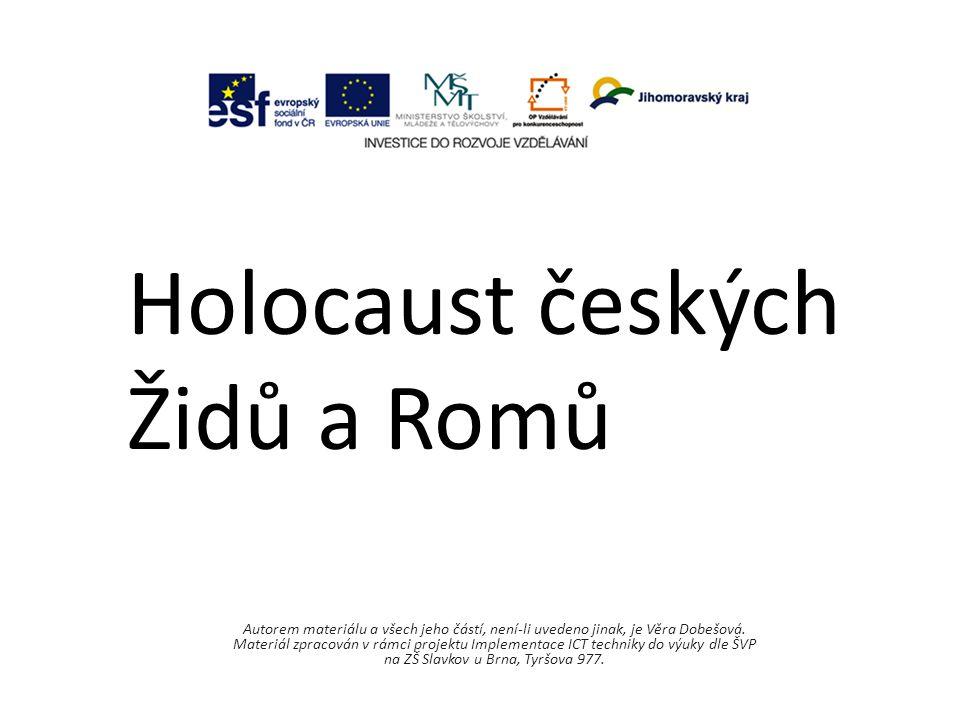 Holocaust českých Židů a Romů